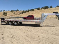 Gooseneck Heavy Equipment Flatbed Trailers - GNF 156A