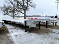 Gooseneck Heavy Equipment Flatbed Trailers - GNF 160A