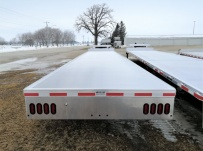 Gooseneck Heavy Equipment Flatbed Trailers - GNF 160B