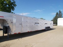 Commercial Gooseneck Livestock Trailers - GNL 118A