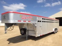 Commercial Gooseneck Livestock Trailers - GNL 119A