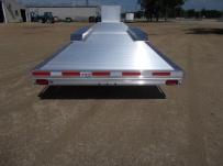 Gooseneck Low Profile Heavy Equipment Flatbed Trailers - GNLPF 46A