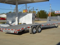 Gooseneck Low Profile Heavy Equipment Flatbed Trailers - GNLPF 47
