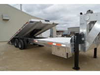 Gooseneck Heavy Equipment Skid Loader Trailer - GNOC 32E