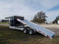 Gooseneck Heavy Equipment Skid Loader Trailer - GNOC 33D