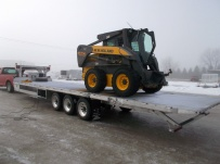 Gooseneck Heavy Equipment Flatbed Trailers - GNF 109B