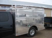 Enclosed Models Service Truck Bodies - SBE 21A