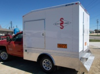 Enclosed Models Service Truck Bodies - SBE 39B