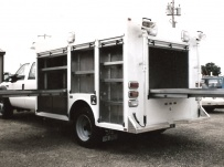 Enclosed Models Service Truck Bodies - SBE 7A