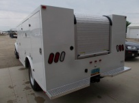 Enclosed Models Service Truck Bodies - SBE 86A