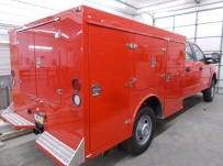 Enclosed Models Service Truck Bodies - SBE 91B