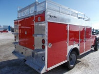 Enclosed Models Service Truck Bodies - SBE 93A