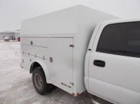 Enclosed Models Service Truck Bodies - SBE 94A