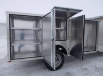Enclosed Models Service Truck Bodies - SBE 96B