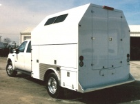 Enclosed Models Service Truck Bodies - SBE 9B