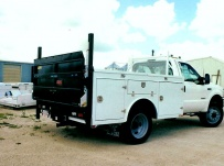 Open Middle Service Truck Bodies - SBO 12A
