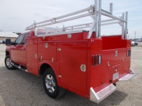 Open Middle Service Truck Bodies - SBO 86B