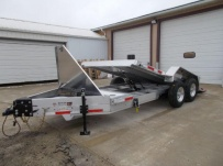 Bumper Pull Heavy Equipment Skid Loader Trailer - SKL 59A
