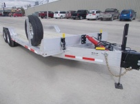 Bumper Pull Heavy Equipment Skid Loader Trailer - SKL 60A