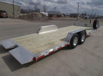 Bumper Pull Heavy Equipment Skid Loader Trailer - SKL 60B