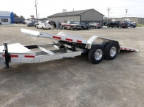 Bumper Pull Heavy Equipment Skid Loader Trailer - SKL 62B