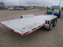 Bumper Pull Heavy Equipment Skid Loader Trailer - SKL 64