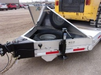 Bumper Pull Heavy Equipment Skid Loader Trailer - SKL 66C