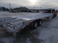 Gooseneck Heavy Equipment Flatbed Trailers - GNF 125B