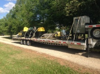 Gooseneck Heavy Equipment Flatbed Trailers - GNF 111A