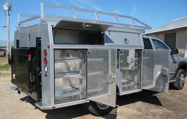 Custom All Aluminum Trailers Truck Bodies Boxes For Sale Alum Line